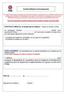thumbnail of certificat medical FFBB